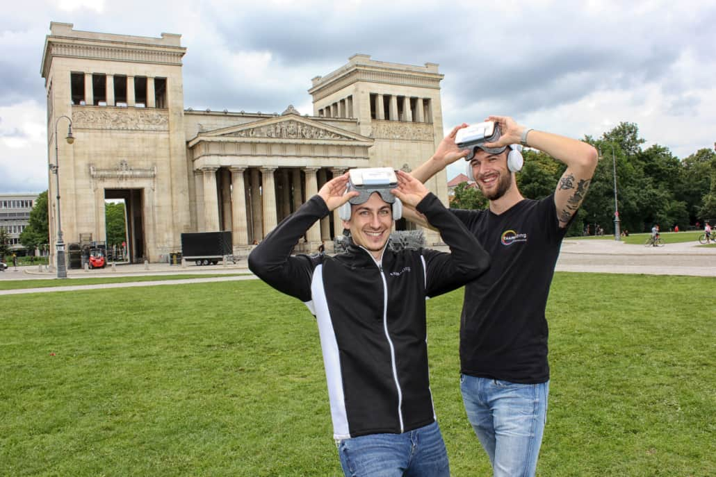 teamazing revolutioniert mit Virtual Reality die Teambuilding-Branche