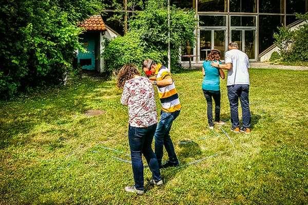 Social Team Building Event mit sozial Bedürftigen